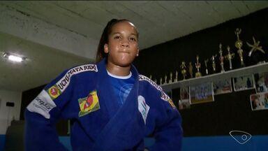 Garota de 12 anos sonha em se tornar judoca profissional - A Vanessa, que faz parte da nova geração do judô, treina muito para alcançar seu sonho.