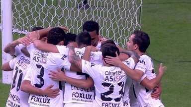 O gol de Grêmio 0 x 1 Corinthians pela 10ª rodada do Brasileirão - Jadson marcou o único gol da partida.