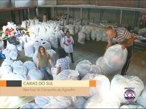 Campanha do agasalho de Caxias do Sul, RS, termina neste sábado - Até agora mais de 160 mil peças foram arrecadadas e a maior parte, já foi entregue às entidades cadastradas.