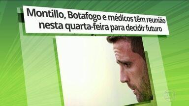 Botafogo treina mais um vez sem Montillo e o meia pode deixar o clube - Carli e João Paulo devem retornar ao time titular contra o Galo pela Copa do Brasil.