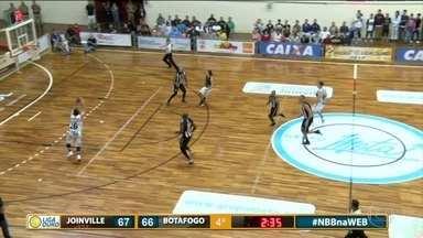 Botafogo perde para o Joinville pela Liga Ouro - Com o resultado, a equipe catarinense forçou o 5º jogo.