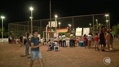 Gaymada reúne diversas pessoas no Parque Potycabana durante o dia do orgulho LGBT - Gaymada reúne diversas pessoas no Parque Potycabana durante o dia do orgulho LGBT