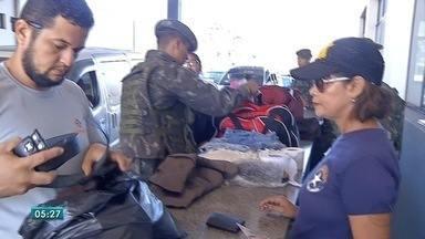 Quinhentos militares participam de operação na fronteira com a Bolívia - Operação Ágata reforça combate ao contrabando, tráfico de armas e de drogas.