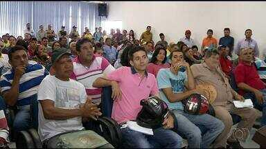 Reunião define etapas do projeto de revitalização da Feirinha em Araguaína - Reunião define etapas do projeto de revitalização da Feirinha em Araguaína