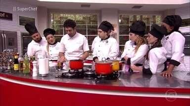 Rodrigo Oliveira explica o uso de pimentas em seus pratos - Chef ensina a dosar a pimenta para alegrar e aquecer a boca
