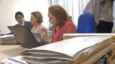 Mutirão em Santarém analisa processos de violência doméstica - Iniciativa é promovida pela coordenadoria estadual de mulheres em situação de violência doméstica e familiar do Tribunal de Justiça do Estado.
