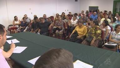 Audiência sobre pagamento de indenizações para moradores é realizada em Manaus - Moradores devem ser indenizados antes da construção de novo Prosamim.