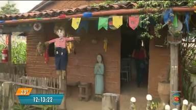 Sítio São João é opção no Maior São do Mundo - O sítio funciona de terça a domingo, sempre a partir 10h da manhã.
