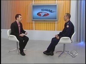 JA Ideias: semana de prevenção contra incêndios alerta para a segurança - Comandante dos Bombeiros fala sobre cuidados para evitar acidentes