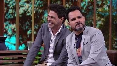 Zezé Di Camargo & Luciano falam sobre amor, relacionamentos, sexo e paixão - Pedro Bial discute letra e poesia com a dupla