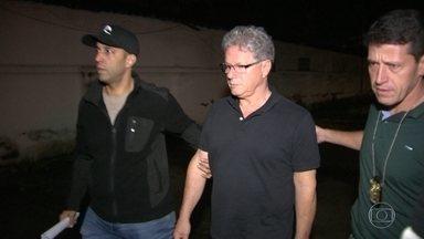 Empresário Jacob Barata Filho é preso no Rio - A polícia prendeu um dos maiores empresários de ônibus do Rio. Ele pretendia viajar para fora do país, com passagem só de ida. Mas foi detido por agentes da Polícia Federal ainda no aeroporto.