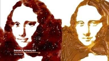 Conheça algumas obras de arte criados por Beatriz Milhazes e Vik Muniz - Obras de arte como 'Double Monalisa' e 'Gamboa Seasons' entre outras mais
