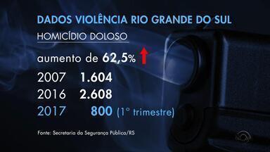 Tráfico de drogas cresce 152% em 10 anos no RS, diz Secretaria da Segurança Pública - Polícia atribui aumento da criminalidade à falta de punição aos usuários de drogas.