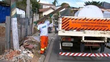 Caminhões do projeto Cidade Limpa percorrem bairros de Sorocaba - Começou a programação do projeto Cidade Limpa em Sorocaba. Os caminhões da coleta vão percorrer os bairros da cidade até o dia 15 deste mês.