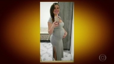 Bebê baleado na barriga da mãe no RJ pode recuperar movimentos, dizem médicos - O pequeno Arthur e a mãe dele, Claudineia, foram vítimas de bala perdida. O tiro atravessou o tórax do bebê, perfurou a orelha e a coluna, prejudicando os movimentos das pernas.