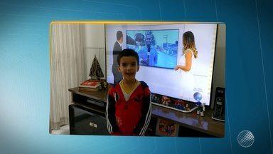 Telespectadores mandam vídeos e participam do JM - Envie seu vídeo para jm@redebahia.com.br.