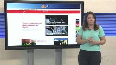 Confira as principais notícias do G1 Alagoas desta terça-feira (4) - A repórter Carolina Sanches traz mais informações sobre o portal.