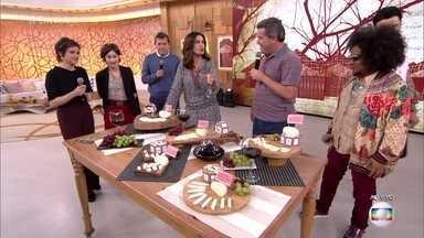 Família de Ariano Suassuna produz queijo de cabra até hoje - Rusty Marcellini mostra variedades dos queijos produzidos na fazenda e conta histórias