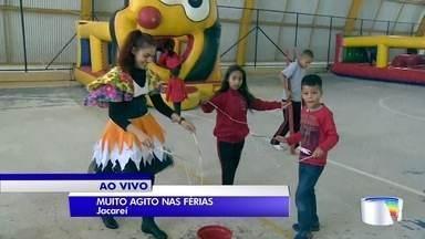 Jacareí tem agito para as crianças durante as férias - Julho chegou e os pequenos estão de férias da escola.