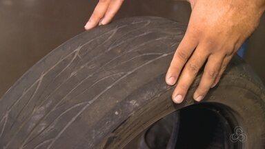 Especialistas falam sobre risco de usar pneus 'carecas' nos carros - Veja orientações de especialistas.