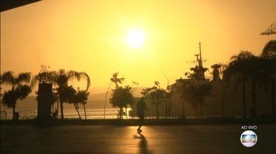 Previsão de tempo bom para o Rio de Janeiro - A terça-feira (23) deve ser de sol. A temperatura máxima prevista para a Região Metropolitana é de 27ºC.