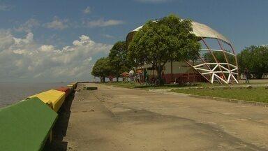 Balneários da capital são preparados para o início do 'Macapá Verão' - Prefeitura está fazendo reformas nos balneários de Macapá, como o da Fazendinha e o do Araxá.