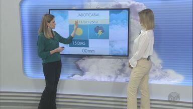 Confira a previsão do tempo para terça-feira (11) na região de Ribeirão Preto - Sem chuva há um mês, índice de umidade do ar cai na região sudeste do estado.