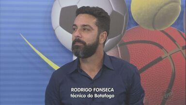 Técnico do Botafogo-SP comenta desempenho na série C do Campeonato Brasileiro - Tricolor de Ribeirão Preto (SP) mantém liderança do grupo B.