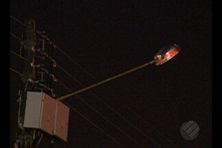 Moradores de Ananindeua reclamam da falta de iluminação pública e assaltos no bairro da C - Moradores de Ananindeua reclamam da falta de iluminação pública e assaltos no bairro da Cidade Nova