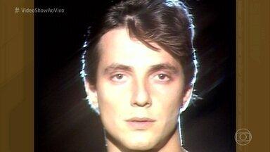 Túnel do Tempo: clipe de Fábio Jr em 1982 - Música 'Enrosca' foi sucesso nos anos 80 na voz do pai de Fiuk