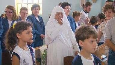 Irmã Noemi, uma das freiras mais velhas do país, morre aos 105 anos em Varginha (MG) - Irmã Noemi, uma das freiras mais velhas do país, morre aos 105 anos em Varginha (MG)