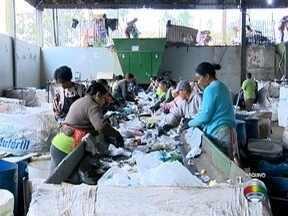 Campanha orienta moradores sobre a separação de resíduos recicláveis - Ação de conscientização segue até o dia 21 de julho, em Presidente Prudente.