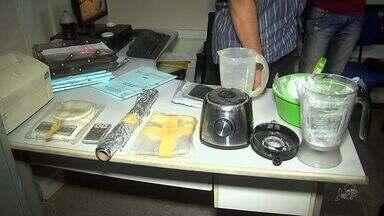Polícia apreende 124 quilos de drogas em residência em Caucaia - Polícia investiga quem são os donos da droga.