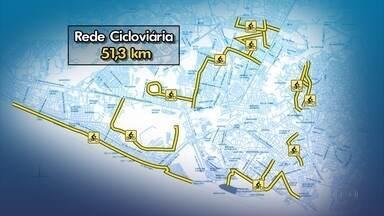 Recife ganha novas ciclofaixas - Novos percursos foram anunciados nesta quinta (13)