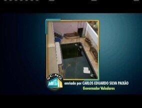 VC no MG TV: Moradores denunciam piscinas abandonadas e acumulo de lixos nas ruas - Morador denuncia piscina destampada em uma propriedade abandonada em Governador Valadares. E em Caratinga os moradores reclamam do acumulo de lixo nas ruas.