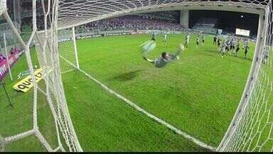 Santos chega à 2ª colocação no Campeonato Brasíleiro após vitória - Jogo contra o Atlético-MG ocorreu em Belo Horizonte.