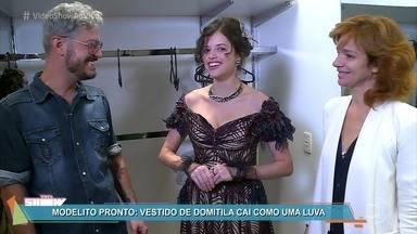 Descubra como são feitos os vestidos de Domitila - O departamento de figurino mostra todo o processo de criação e confecção das belas roupas da amante de Dom Pedro na novela 'Novo Mundo'