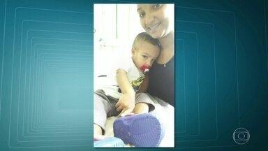 Bebê de 2 anos morre em UPA do Engenho Novo - Matheus Guedes estava com dificuldades para respirar. Depois de uma sessão de nebulização e uma injeção, acabou morrendo. Polícia está investigando.