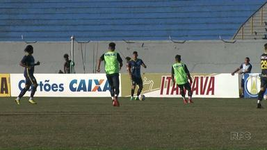 Londrina está pronto para tentar a terceira vitória seguida - O técnico Cláudio Tencati acredita que a equipe encontrou o ritmo ideal e pode embalar com mais um resultado positivo em casa.