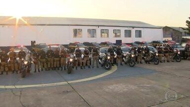 G1 no RJTV: Começa o reforço da Policia Rodoviária para reduzir roubo de cargas - São 120 agentes da Policia Rodoviária Federal de um total de 380 que vão reforçar o patrulhamento nas rodovias para reduzir o número de roubos de cargas.