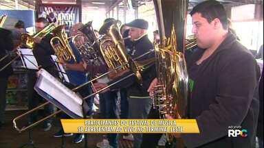 Durante o fim de semana tem festival de música em Cascavel - Este é só um dos eventos programados para o sábado e domingo de folga na região.