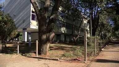 Cercas de prédios residenciais no Plano Piloto restringem acesso a áreas públicas - Alguns prédios no Plano Piloto instalaram cercas que estão restringindo o acesso a áreas públicas.