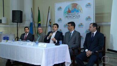 Equipe econômica da Prefeitura de Petrópolis, RJ, anuncia dívida do município - De acordo com a equipe, dívida é de quatro vezes maior que a divulgada no início do ano.