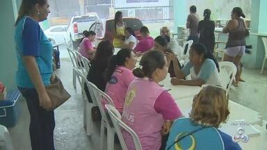 Famílias desabrigadas retornam a local de incêncio para contabilizar prejuízos - Vítimas precisam de doações.