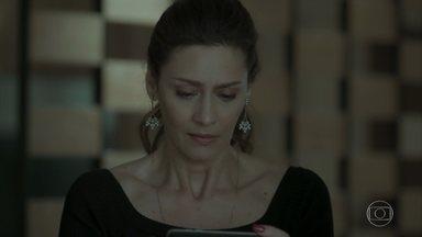 Joyce decide expulsar Eugênio de casa - Dantas pressiona o advogado para que ele revele quem é sua amante
