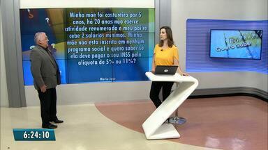 'Eu Quero Saber' tira dúvidas sobre direitos trabalhistas e previdenciários - Paulo Souto responde a perguntas dos telespectadores.