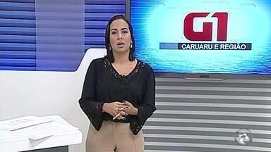 Barragem do Cajueiro está sangrando em Garanhuns - Local foi beneficiado com as últimas chuvas na região e atingiu a capacidade máxima, de 14,5 milhões de metros cúbicos.