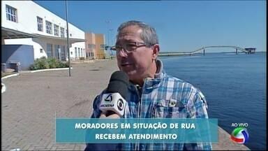 Veja como foi o atendimento a moradores de rua nessas duas madrugadas geladas em Corumbá - Veja como foi o atendimento a moradores de rua nessas duas madrugadas geladas em Corumbá (MS)