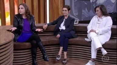 Mariana Varella defende que é uma escolha da mulher ter ou não filhos - Jornalista comenta vídeo que publicou na página de seu pai, o médico Dráuzio Varella. Como médica, Albertina Duarte dá sua opinião sobre o assunto