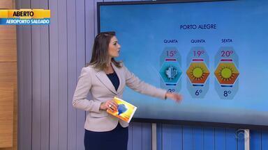 Tempo: Porto Alegre tem previsão de sol para toda a semana - A previsão é de tempo firme em todas as regiões.